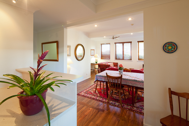 Apartment 2 Dining and Lounge Rooms